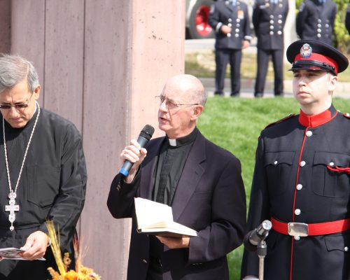 Father Paul McKeown dedication prayer