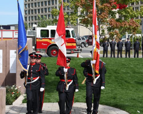 OFS Honour Guard