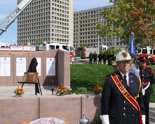 Ottawa Fire Services Band Colour Guard Captain 661