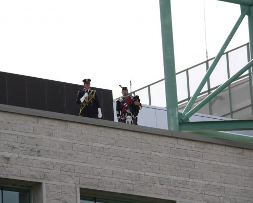 Piper Brandon Stewart with Lament from Roof of City Hall 744